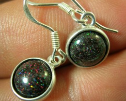 BOULDER MATRIX SILVER EARRING SET LMJ / 80