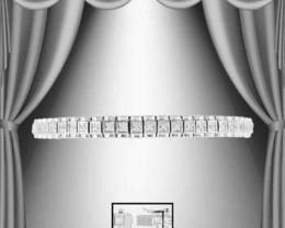 $1 No Reserve 0.94 CT Diamond Designer Bracelet $1,145.00