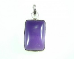 Unique / Exotic 925 Sterling Silver Pendant (Amethyst)
