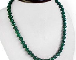 Natural Genuine  Rare Green Jade Necklace