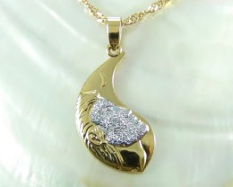 Syunning Stargazing Yellow & White gold Pendent 18K N/R