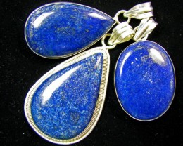 Three lapis Pendnats For Price One   MJA 429
