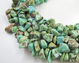 700 Cts Natural Turquoise Necklace  MJA 1061