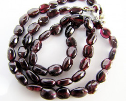 115 Cts Beautiful natural Garnet Necklace   MJA 1082