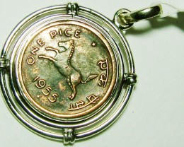 COLLECTABLE COIN PENDANT JEWELRY year 1953 -9G SG-299