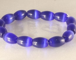Cats Eye Bracelet 19 cm elastic vivid colors CE-018
