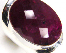 NATURAL RUBY RING 68.45 CARATS  RING SIZE 6  GTJA77