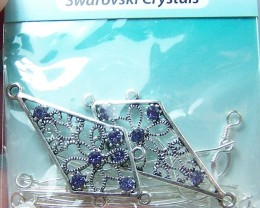 Gorgeous Swarovski Crystal Chandelier Earring Components Kit