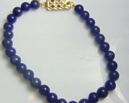 Lapiz Lazuli Bracelet Lapis Lazuli bracelet 6.4-6.6MM Round beads size