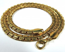 Filled Gold Chain -Gold Plated- CSS 257
