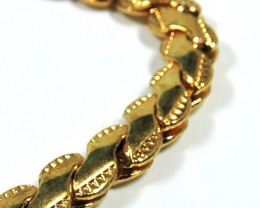 Filled Gold Bracelet -Gold Plated- CSS 253