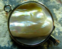 FRESHWATER PEARL CLASP ROUND GOOD FOR SINGLE STRAND