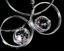 MOHAN DESIGN EARRINGS  LARGE HOOP  0616-3