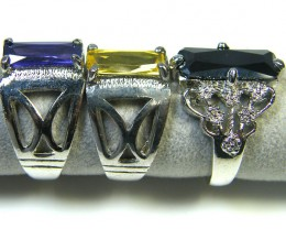 RE SELLERS DEAL THREE RINGS SIZE 6.   TR 802