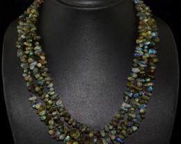 Genuine 480.00 Cts 3 Line Blue Labradorite Gemstone