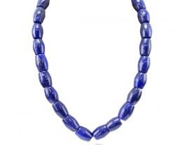 Amazing 852.85 Cts Blue Lapis Lazuli Necklace
