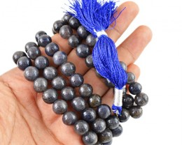 $24.00 SPECIAL PRICE OFFER :108 Beads Prayer Mala Blue Tanzanite Necklace