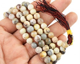 $24 SPECIAL PRICE OFFER : 108 Beads Prayer Mala Agate Gemstone Necklace
