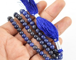 $24.00 SPECIAL PRICE OFFER :108 Beads Prayer Blue Tanzanite Gemstone Neckla