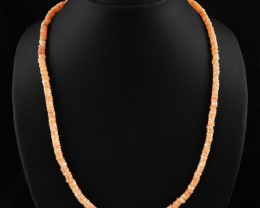 Natural 126.00 Cts Amazing Agate Necklace