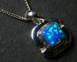 OPAL STERLING SILVER PENDANT MYT634