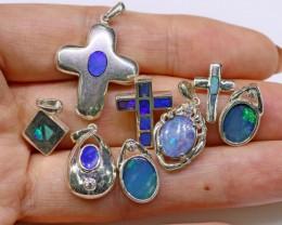 Parcel Deal below wholesale 8 opal pendants SB 32
