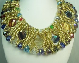 COLOR FASHION STYLE NECKLACE N EARRINGS QT 299