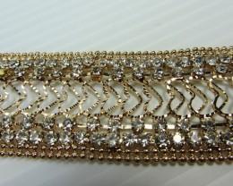 GOLD PLATED DIAMOND BRACELET QT 325