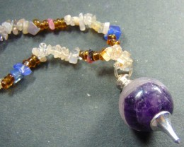 159.75cts.. Multi Color Stone mixed natural quartz Bead Stri