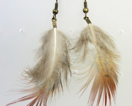 CUTE FEATHER EARRINGS QT 347