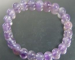 AMETHYST stone Bracelet 8 MM