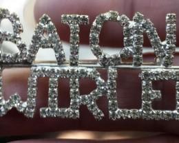 BATON TWIRLER PIN / BROOCH 1960'S VINTAGE NICE!!