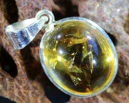 Beautiful natural Cabochon Citrine Pendant SU1004