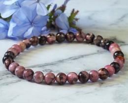 Natural Rhodonite Bracelet WS268
