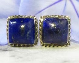 Lapis Lazuli  silver Earrings WS 528