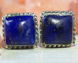 Lapis Lazuli   Silver Earrings   WS530