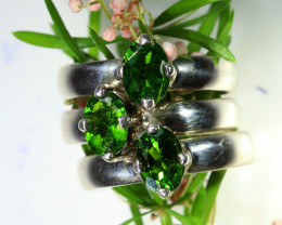 47.30 CTS CHROME PERIDOT RINGS-FACTORY DIRECT SIZE 7[SJ1589]