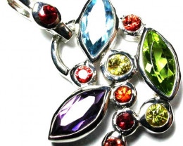 Natural Gemstone Pendants