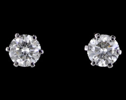 0.30 cts Australian 9ct Gold Classic Diamond Earrings .30 ct JAO 32