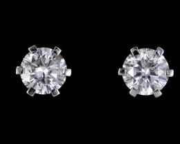 0.35 Cts Australian 9ct Gold Classic Diamond Earrings .35 ct JAO 29