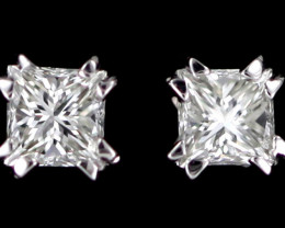 0.35 Australian 9ct Gold Classic Diamond Earrings .35 ct JAO45