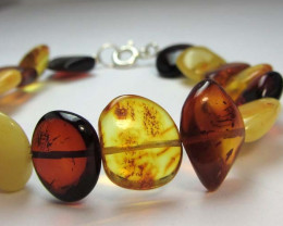 NATURAL CHUNKY  BALTIC AMBER BRACELET MGMG 207
