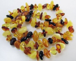 Amber Necklace honey amber MJA 1089