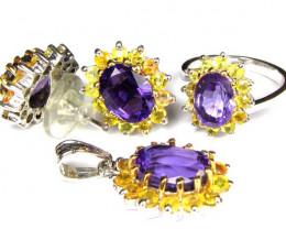 Gemstone Jewlery Sets