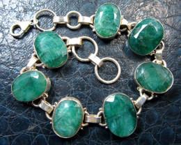 Natural Emerald Bracelets