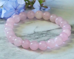 Natural Rose Quartz Bacelet WS261