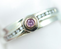 Ethical Color Diamond Rings