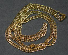 4.94 Grams 45 CM L QUATLITY 18 K ITALIAN CURB GOLD CHAIN LGN 820