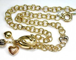 36.2 grams 18K ITALIAN GOLD CHAIN, 45 CM LONG 36.2GRAMS L375
