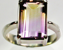 8 RING SIZE AMETRINE STONE IN SILVER FACTORY DIRECT [SJ2334]